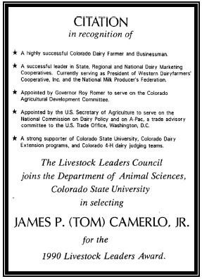 Livestock Leaders Animal Sciences